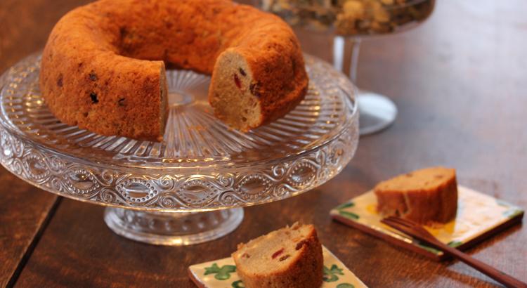 ママのフルーツケーキ